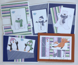 6 x 6 One Sheet Wonder cards