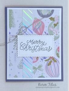 Whimsy & Wonder Designer Series Paper card