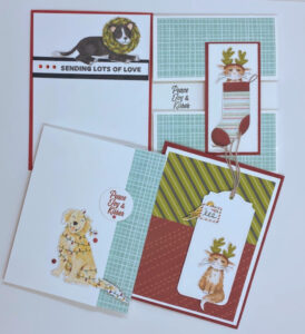 fussy cutting for easy cards