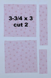 4 x 6 card layout with snowman