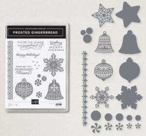 frosted gingerbread stampin up