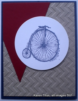 Sentimental Journey Biking Card