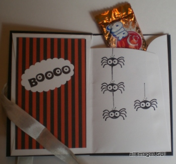 stampin' up halloween treat holder