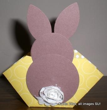 stampin up easter bunny basket