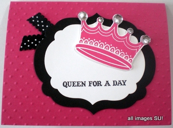 Queen for a Day stamp set
