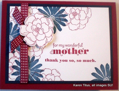 Secret Garden Mothers Day Card