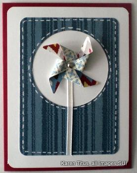 Pinwheel Sizzlit Card