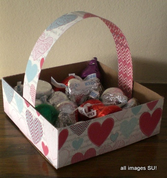 Valentine candy box