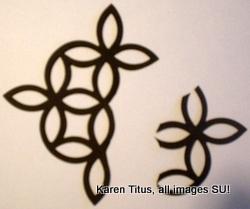 lattice die cross