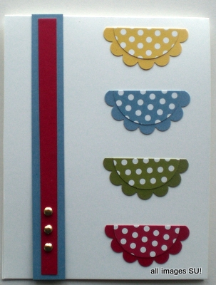 Polka Dot Parade card