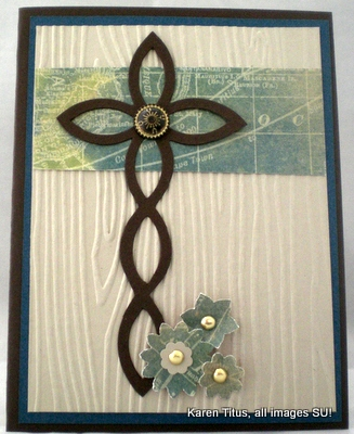 stampin up lattice die