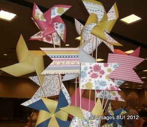 stampin up pinwheels