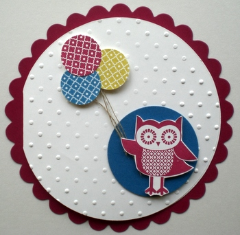 Owl Occasions Birthday Card