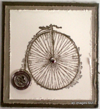 Sentimental Journey handmade card