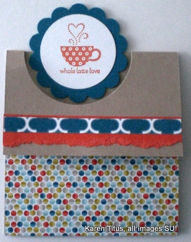 Patterned Occasions Fun Fold Card