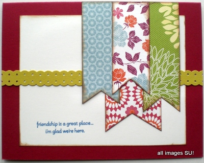 stampin up card idea