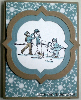 Winter Memories stamp set