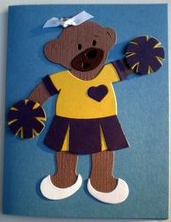 Build-A-Bear as a cheerleader