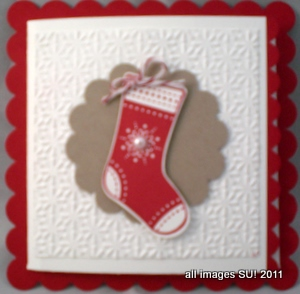 Creative stampin up card idea