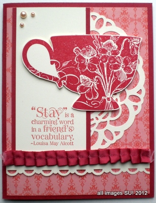 Tea Shoppe creative card idea