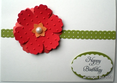 Mixed Bunch with Blossom Punch card