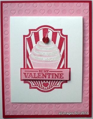 Seet Cake Valentine's Day Card