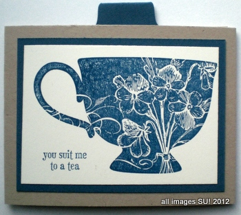 Tea Shoppe invitation card