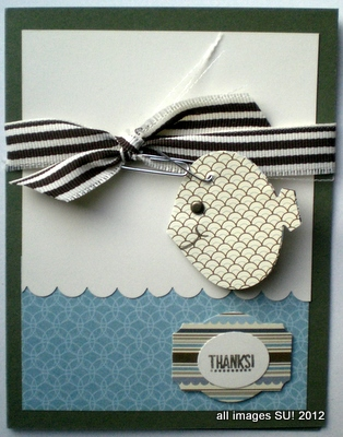Stampin' Up! ornament punch art