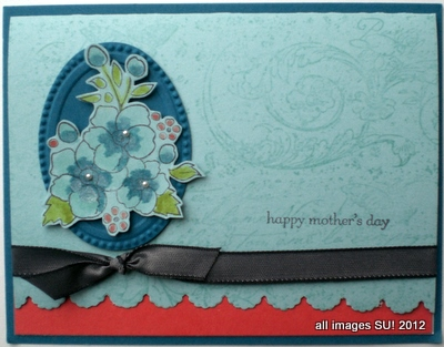 Bordering on Romance Mother's Day Card