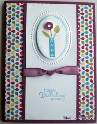 Bright Blossoms Stampin Up Stamp Set