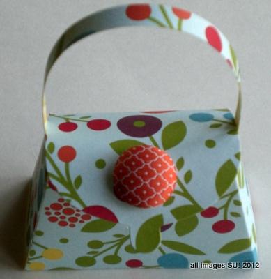 stampin up purse bigz L die