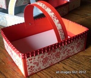 stampin up card box