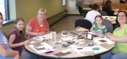 Card making day in Minnesota