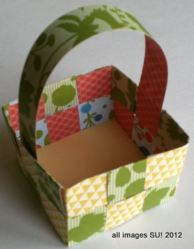 Spring craft ideas easter basket or may basket - Easter basket craft ideas ...