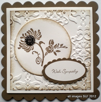 stampin up card idea for Friends Never Face
