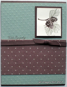 stampin up sympathy card ideas