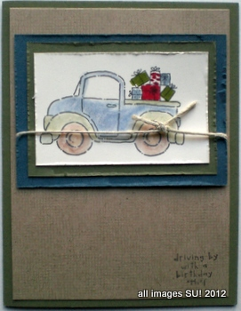 stampin up masculine card ideas