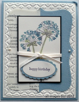 stampin up card making