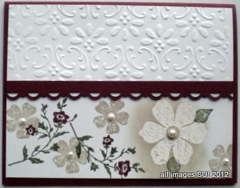 vintage hand stamped cards