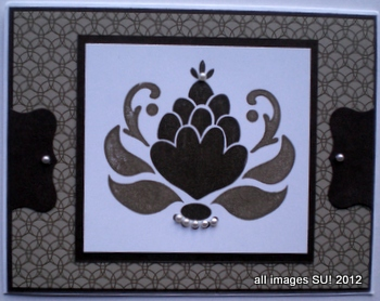 ornate blossom card making ideas