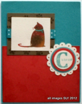 stampin up card ideas with cats