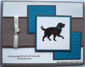 stampin up card ideas for dogs