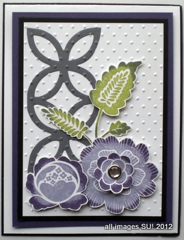 floral card making ideas