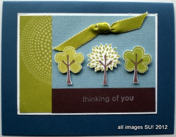 stampin up card ideas for nature cards