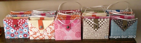 stampinup purse card containers