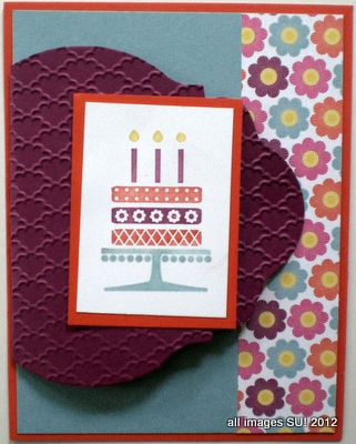Embellished Events birthday card