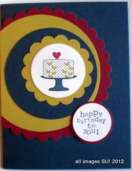 Make a Cake stamp set