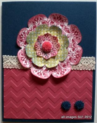 Daydream medallion card