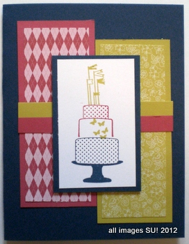 have your cake stamp set