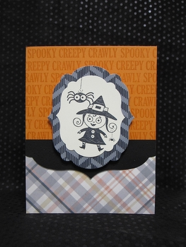 googly ghouls Halloween card